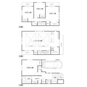 4LDK House in Akasaka - Minato-ku Floorplan