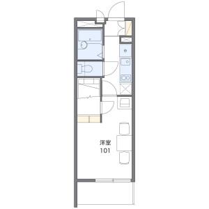 1K Apartment in Asahimachi - Machida-shi Floorplan