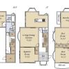 6SLDK House to Buy in Shibuya-ku Floorplan