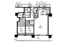 2LDK Apartment in Kitahama - Osaka-shi Chuo-ku