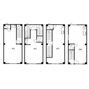 Whole Building {building type} in Shimochiai - Shinjuku-ku Floorplan