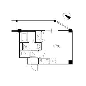 1K Mansion in Kaminoge - Setagaya-ku Floorplan