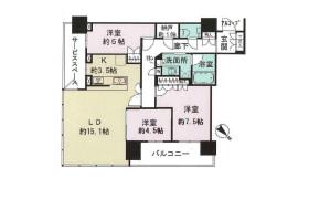 3SLDK Apartment in Nakanoshima - Osaka-shi Kita-ku