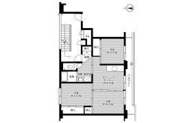 3DK Mansion in Naegi - Nakatsugawa-shi