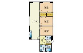 3LDK Apartment in Nishihatamachi - Kitakyushu-shi Wakamatsu-ku
