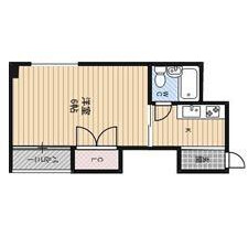 1K Apartment in Katamachi - Osaka-shi Miyakojima-ku Floorplan