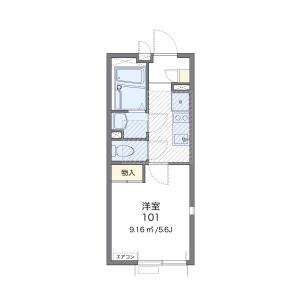 1K Mansion in Chuo - Ota-ku Floorplan