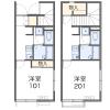 1K Apartment to Rent in Ota-ku Layout Drawing
