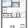 1K Apartment to Rent in Saitama-shi Minuma-ku Floorplan