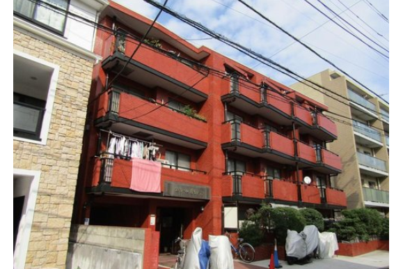 在目黒区购买3LDK 公寓大厦的 户外