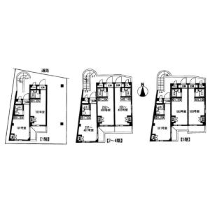 Whole Building {building type} in Mukojima - Sumida-ku Floorplan