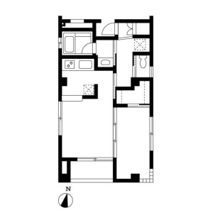 1LDK Apartment in Hommachi - Shibuya-ku Floorplan