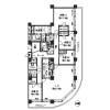4LDK Apartment to Rent in Chuo-ku Floorplan