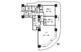 2LDK Mansion in Tsukuda - Chuo-ku