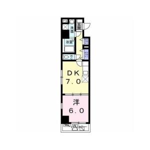 1DK Mansion in Higashiyaguchi - Ota-ku Floorplan