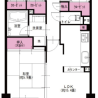 3LDK Apartment to Buy in Tachikawa-shi Floorplan