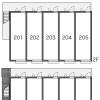 1K Apartment to Rent in Kashiwa-shi Layout Drawing