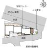 1K Apartment to Rent in Kawasaki-shi Tama-ku Map