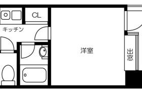 1K {building type} in Gokushomachi - Fukuoka-shi Hakata-ku