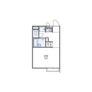 1K Apartment in Nishiarai - Adachi-ku Floorplan