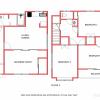 4LDK Apartment to Rent in Toshima-ku Floorplan