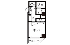 1K Apartment in Baika - Osaka-shi Konohana-ku
