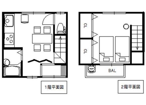 1DK House to Buy in Kyoto-shi Higashiyama-ku Floorplan