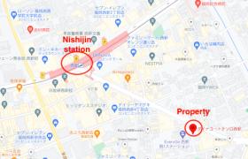 1R {building type} in Kiyotaki - Kitakyushu-shi Moji-ku