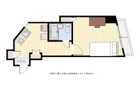 世田谷區用賀-1K公寓大廈