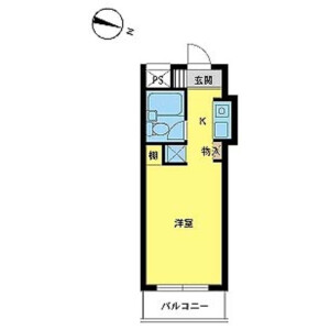 1R Mansion in Minamikamata - Ota-ku Floorplan