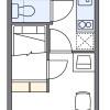 1K Apartment to Rent in Nagoya-shi Nishi-ku Floorplan