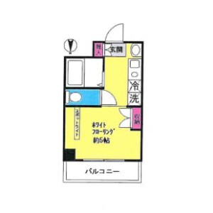 1R Mansion in Setogayacho - Yokohama-shi Hodogaya-ku Floorplan