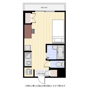 1R Mansion in Yotsuya - Shinjuku-ku Floorplan