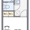 在名古屋市北區內租賃1K 公寓 的房產 房間格局
