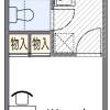 1K Apartment to Rent in Neyagawa-shi Floorplan