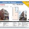 1R Apartment to Buy in Suginami-ku Map