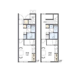 1K Apartment in Ishikawa - Yosa-gun Yosano-cho Floorplan