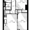 2LDK Apartment to Buy in Shibuya-ku Floorplan