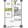 3LDK Apartment to Buy in Suita-shi Floorplan