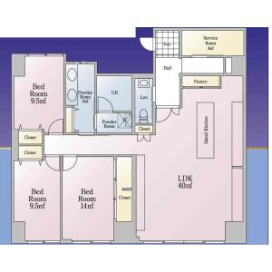 3LDK {building type} in Otsuka - Bunkyo-ku Floorplan
