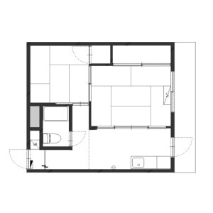 2K Mansion in Meguro - Meguro-ku Floorplan