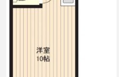 1K {building type} in Motomachi - Fukuoka-shi Hakata-ku