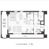 1K Apartment to Rent in Kyoto-shi Minami-ku Floorplan