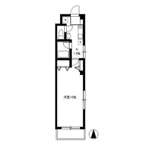 1K Mansion in Oi - Shinagawa-ku Floorplan