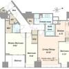 1LDK Apartment to Buy in Chiyoda-ku Floorplan