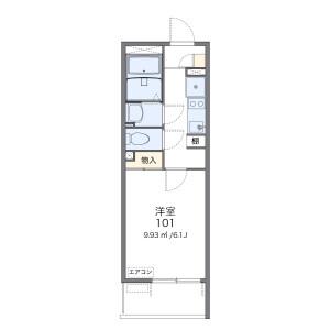 1K Mansion in Higashioizumi - Nerima-ku Floorplan