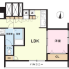1LDK Apartment to Buy in Shinjuku-ku Floorplan