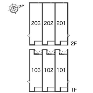 1K Apartment in Kitakokubun - Ichikawa-shi Floorplan