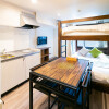 1DK Serviced Apartment to Rent in Ota-ku Bedroom