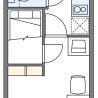 1K Apartment to Rent in Saitama-shi Minami-ku Floorplan